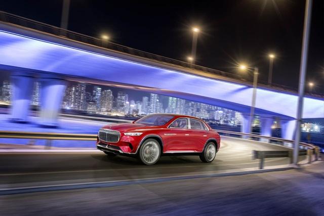 Diện kiến siêu SUV thương hiệu Mercedes-Maybach - 1
