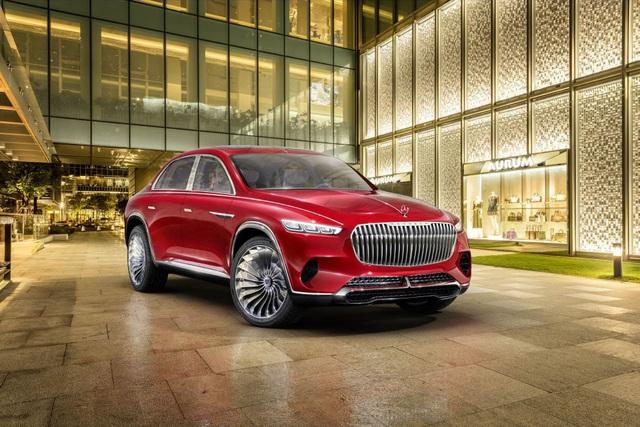 Diện kiến siêu SUV thương hiệu Mercedes-Maybach - 2