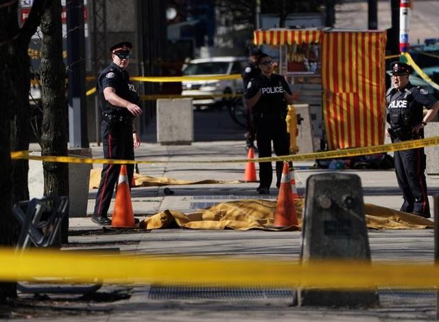 Vụ đâm xe xảy ra ở Toronto vào giờ nghỉ trưa. (Ảnh: Reuters)