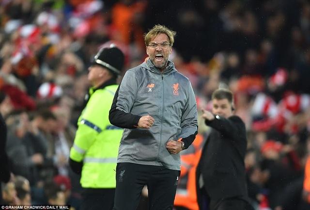 HLV Jurgen Klopp vẫn chưa thực sự hài lòng sau chiến thắng trước AS Roma