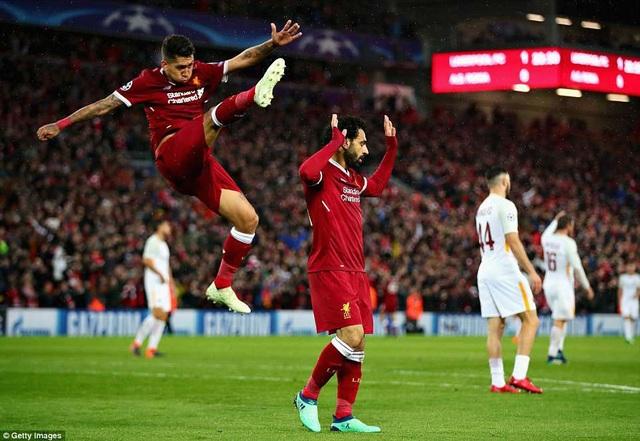 Mohamed Salah lập nhiều kỷ lục sau trận đấu với AS Roma