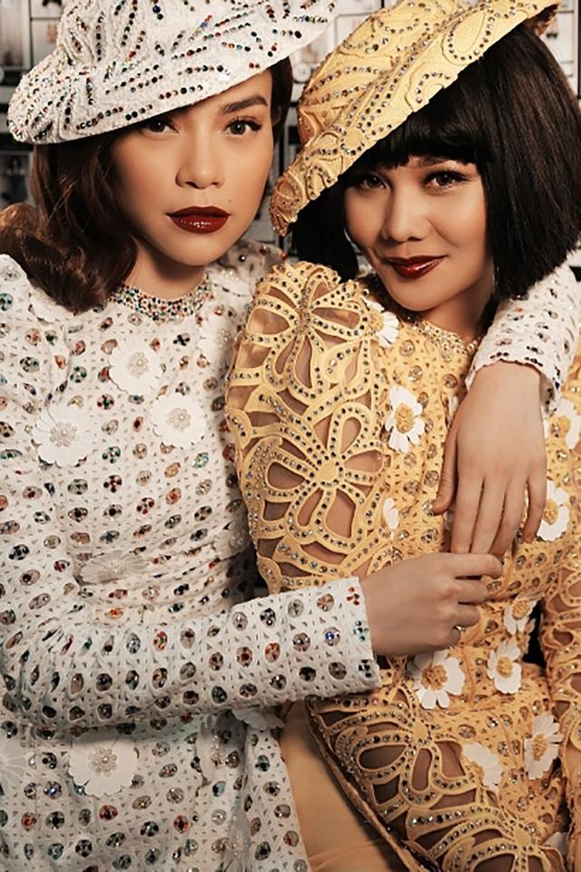 Tình bạn thân thiết của Hà Hồ không chỉ trong cuộc sống mà còn trên sàn diễn thời trang.