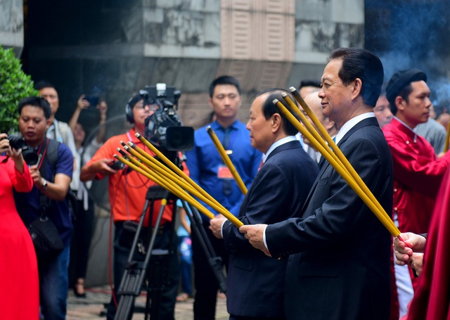 Lễ giỗ Tổ Hùng Vương nhằm tưởng nhớ công đức của các bậc tiền nhân đã có công dựng nước và giữ nước, được UBND TPHCM tổ chức.