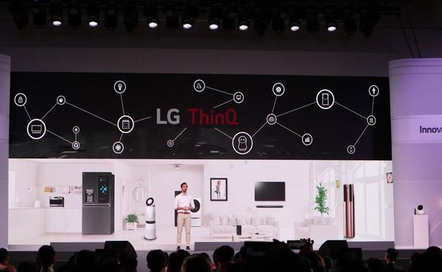 LG giới thiệu loạt thiết bị tích hợp AI tại Innofest Châu Á 2018