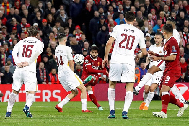 Cuối cùng Salah cũng chớp cơ hội để ghi bàn