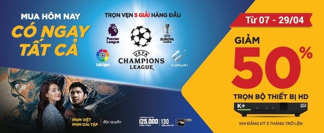 Đại chiến bóng đá Châu Âu cuối tháng 4 - Ảnh 3.