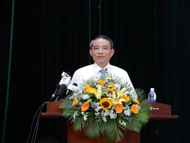 Bí thư Trương Quang Nghĩa trả lời ý kiến của các cử tri