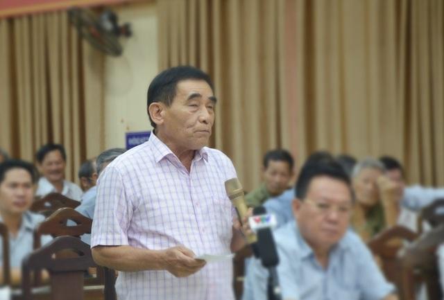 Cử tri Nguyễn Quang Nga: Thông tin về Giám đốc Công an Đà Nẵng xử lý như thế nào?