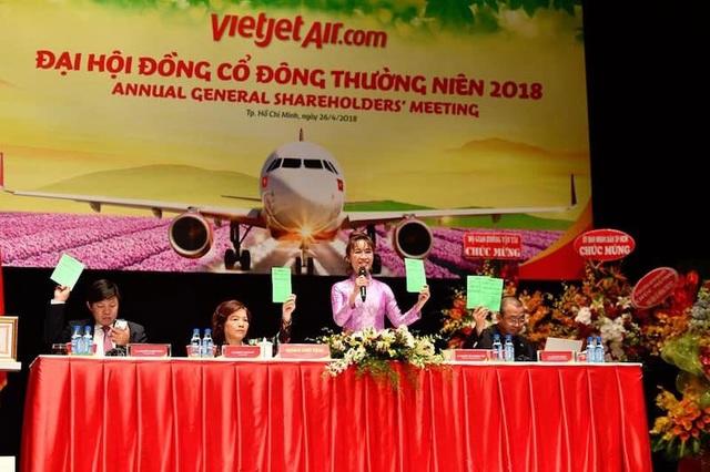 Công ty cổ phần Hàng không Vietjet (mã VJC – HOSE) đã tiến hành Đại hội đồng cổ đông thường niên năm 2018.