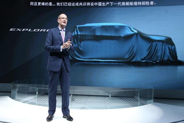 Ford hé lộ kiểu dáng Explorer thế hệ mới - 1
