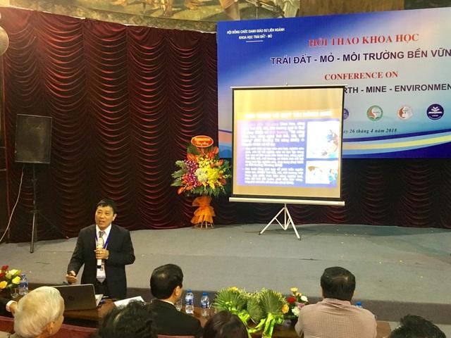 Hội thảo khoa học Trái đất - mỏ - môi trường bền vững (EME 2018) tổ chức ngày 26/4 tại Hà Nội.