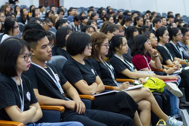Sinh viên tham dự Chương trình Tiếng nói Trẻ-YouthSpeak 2018