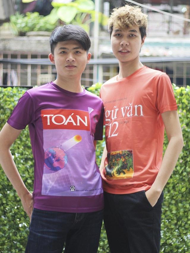 Một số mẫu áo đồng phục bìa sách do Khánh Ly lên ý tưởng thiết kế