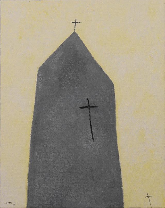 """Triển lãm """"Bóng và hình"""" của họa sĩ Lê Thiết Cương - 3"""