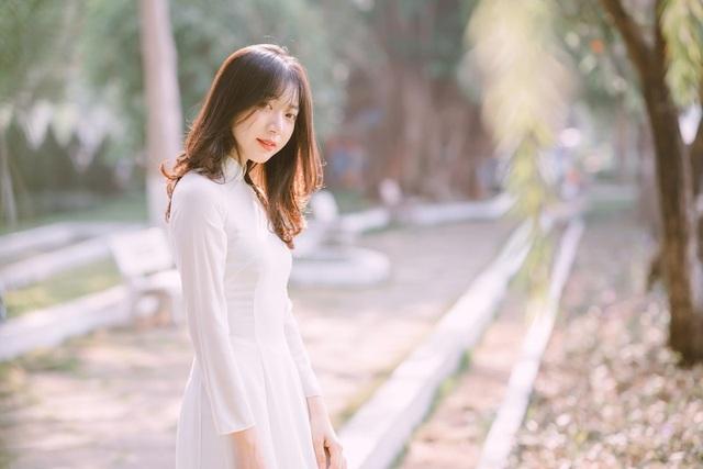 Nữ sinh Đồng Nai đẹp tinh khôi trong trang phục áo dài - 13