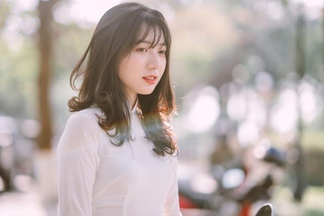 Nữ sinh Đồng Nai đẹp tinh khôi trong trang phục áo dài - 12
