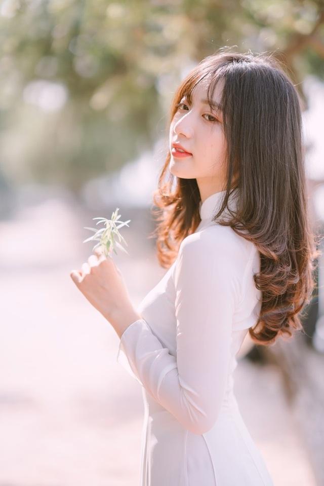 Nữ sinh Đồng Nai đẹp tinh khôi trong trang phục áo dài - 11