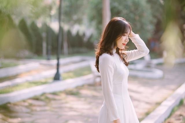 Nữ sinh Đồng Nai đẹp tinh khôi trong trang phục áo dài - 10