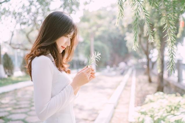 Nữ sinh Đồng Nai đẹp tinh khôi trong trang phục áo dài - 8