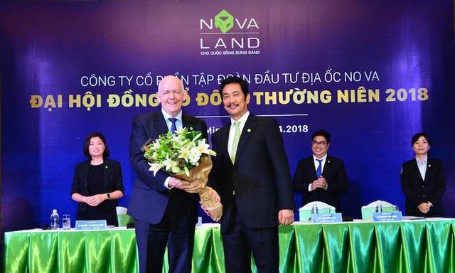 Đại hội Đồng Cổ đông Novaland 2018 chào đón tân Thành viên độc lập Hội đồng quản trị - ông David Proctor