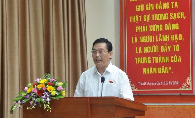 """Ông Nguyễn Thanh Quang - Trưởng đoàn ĐBQH TP Đà Nẵng: """"Bộ Công an đang điều tra vấn đề Giám đốc công an Đà Nẵng"""""""