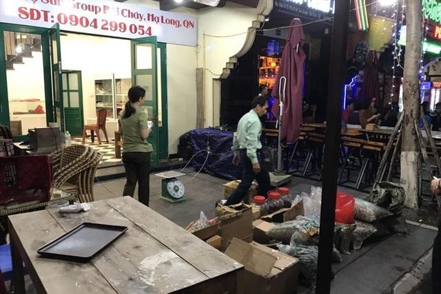 Cửa hàng nơi xảy ra vụ 70 triệu đồng cho 1,9kg tam thất.