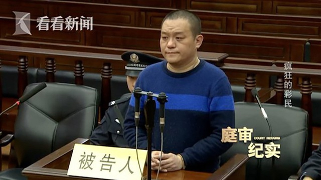 Xu Chao ra hầu tòa vì đốt quầy bán vé số