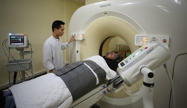 Chụp cắt lớp vi tính lồng ngực giúp xác định khối u phổi dù còn rất nhỏ.