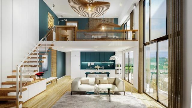 Thiết kế Duplex đặc sắc tại PentStudio