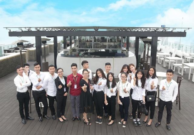 Sinh viên BTEC Việt Nam trong chuyến tham quan và trải nghiệm môi trường làm việc tại tập đoàn khách sạn 5 sao - Lotte Hà Nội.
