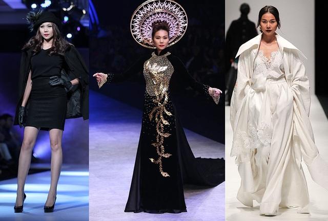 Và chắc chắn khi Thanh Hằng nhận show thời trang cô luôn đảm nhận vị trí vedette vì cách làm việc chuyên nghiệp của mình.