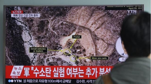 Vụ thử hạt nhân lần 6 của Triều Tiên có thể đã khiến một phần đường hầm ở bãi thử Punggye-ri bị sập. (Ảnh minh họa: AP)