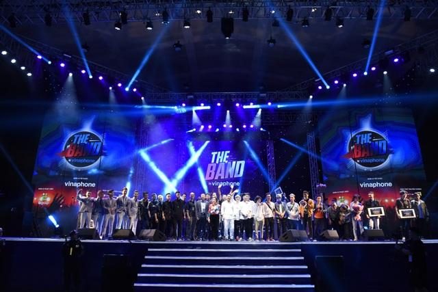 Tất cả các ban nhạc đều đã thể hiện sự chuyên nghiệp khi làm chủ sân khấu.