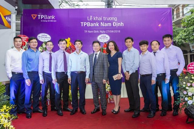 Quý I/2018, TPBank đã đưa vào hoạt động thành công nhiều điểm giao dịch trên toàn quốc và mới đây là việc khai trương chi nhánh tại số 91 Quang Trung, Phường Quang Trung, TP Nam Định.