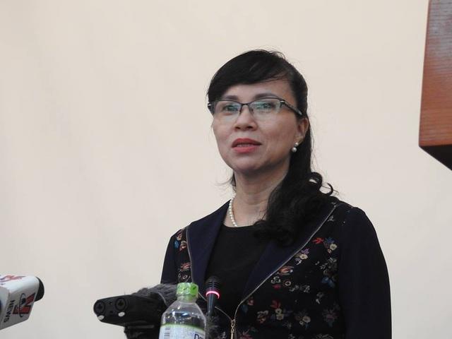 Bà Nguyễn Thị Kim Phụng, Vụ trưởng Vụ Giáo dục ĐH, Bộ GD&ĐT. (Ảnh: Đình Tuệ)