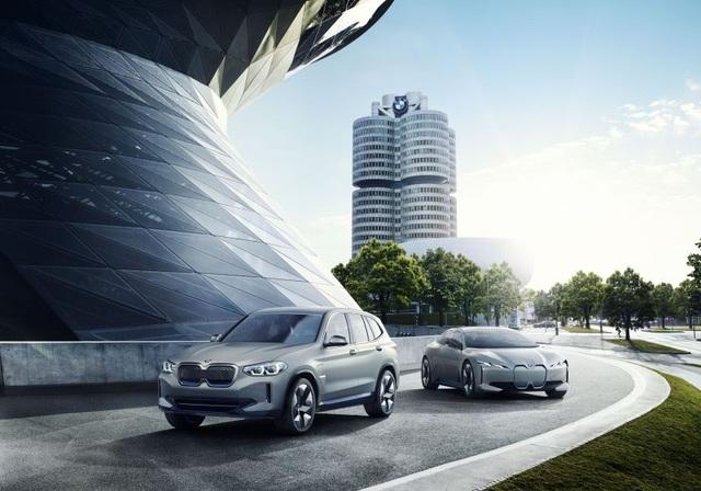 Concept iX3 - Phiên bản chạy điện của BMW X3 - 1