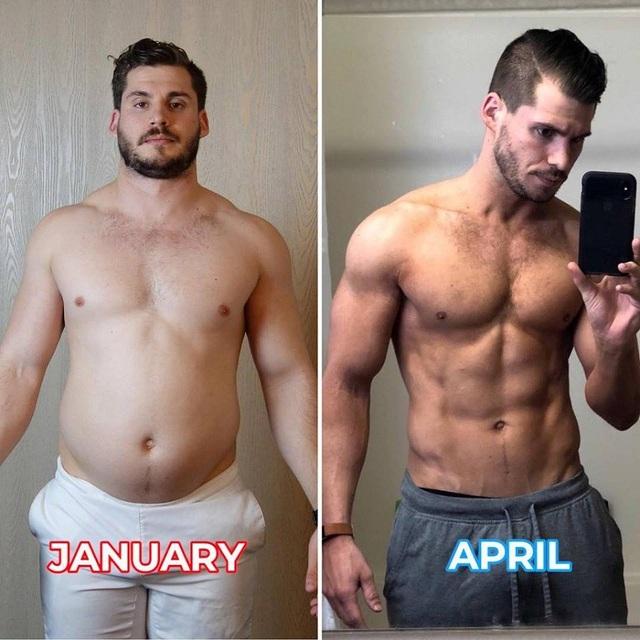 Sự thay đổi ngoạn mục trước và sau khi tập của Hunter Hobbs