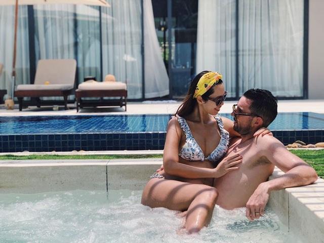 Sắp lâm bồn, siêu mẫu Hà Anh vẫn khoe ảnh bikini bốc lửa - 8