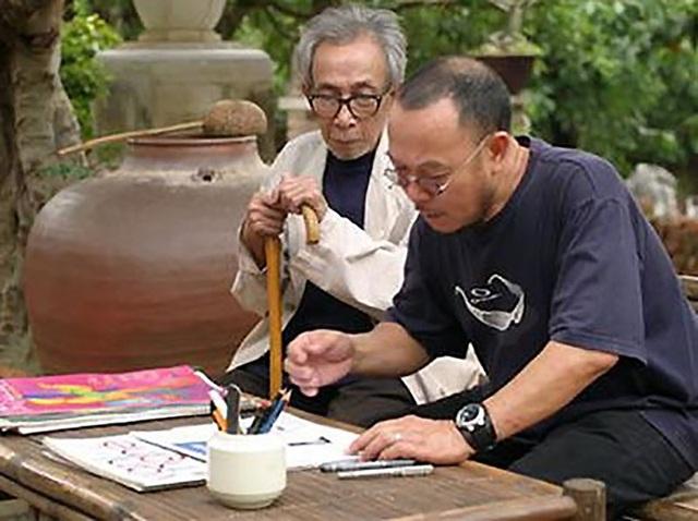 Họa sĩ Thành Chương là con trai nhà văn Kim Lân
