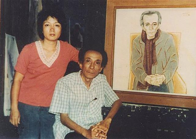 Ngoài những tác phẩm văn học và một số vai diễn để đời, ông còn đóng góp cho nền nghệ thuật nước nhà những nghệ sĩ nổi tiếng khi sinh ra hai người con đều là họa sĩ tên tuổi. Con gái lớn là họa sĩ Nguyễn Thị Hiền.