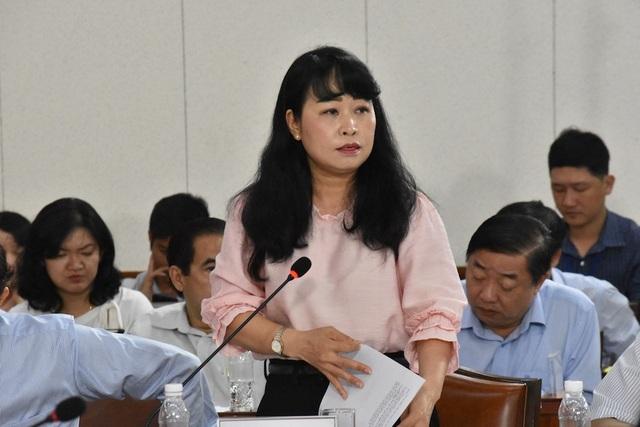 Phó Giám đốc Sở Tài chính TPHCM Lê Ngọc Thuỳ Trang cho biết nguồn thu từ thực hiện Nghị quyết 54 sẽ bổ sung nguồn vốn đầu tư phát triển cho thành phố