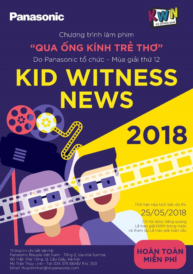 Qua ống kính trẻ thơ – chương trình làm phim do Panasonic tổ chức đã thắp lửa đam mê nghệ thuật thứ 7 cho nhiều thế hệ học sinh Hà Nội
