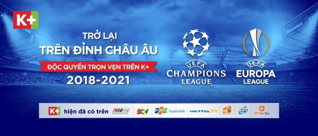 Các giải đấu đa sắc màu với sự tranh tài của các đội tuyển hàng đầu và các siêu sao thế giới trên K+ trở thành món ăn tinh thần không thể bỏ lỡ của khán giả Việt