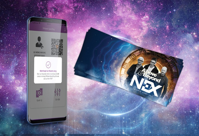 Hãy tới ngay chi nhánh TPBank và các điểm LiveBank tại Hà Nội để mua được vé Nex Music Festival 2018 với giá ưu đãi
