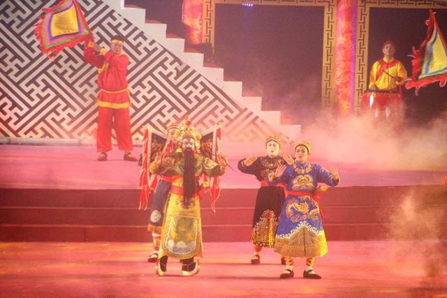 Nghinh Hội Đăng Đàn với nhiều hình tượng trong tuồng cổ Hát Bội tại Huế được tái hiện