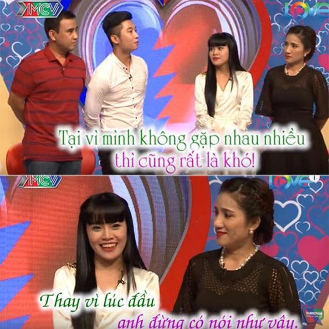 Hoàng Sang ngượng ngùng khi bị từ chối hẹn hò