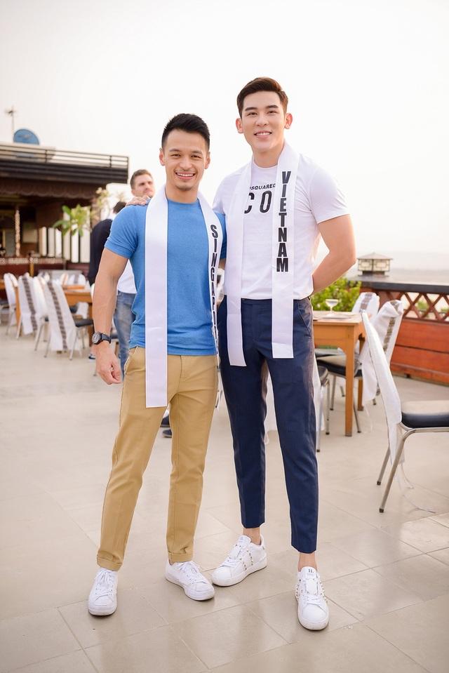 Minh Trung tự nhận mình yếu thế hơn các thí sinh Mr International 2018 - 1