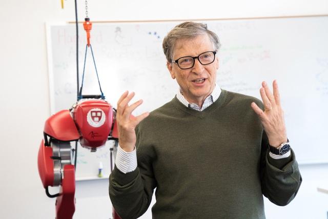 Bill Gates nuối tiếc vì thời trẻ sống khép kín, không hòa đồng (Ảnh: News.harvard.edu).