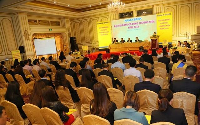 Ngày 28/4, Ngân hàng TMCP Nam Á (Nam A Bank) đã tổ chức Đại hội đồng cổ đông thường niên năm 2018.