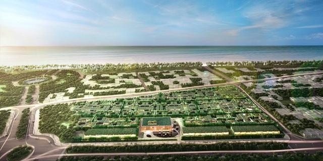 Biệt thự biển Wyndham Garden Phú Quốc đảm bảo khả năng khai thác cho thuê bởi sở hữu kiến trúc Private Villa thời thượng tại vị trí trung tâm Bãi Trường.
